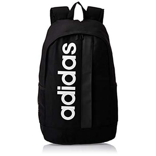 adidas Lin Core Bp Zaino Casual, 55 cm, 42 liters, Nero (Black/Black/White)