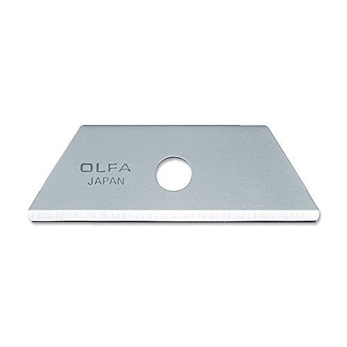 OLFA 9615 RSKB-2/10B Rounded Tip Safety Blades, 10-Pack