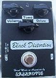 Sabbadius Custom Pedal Effects Distorsión negra