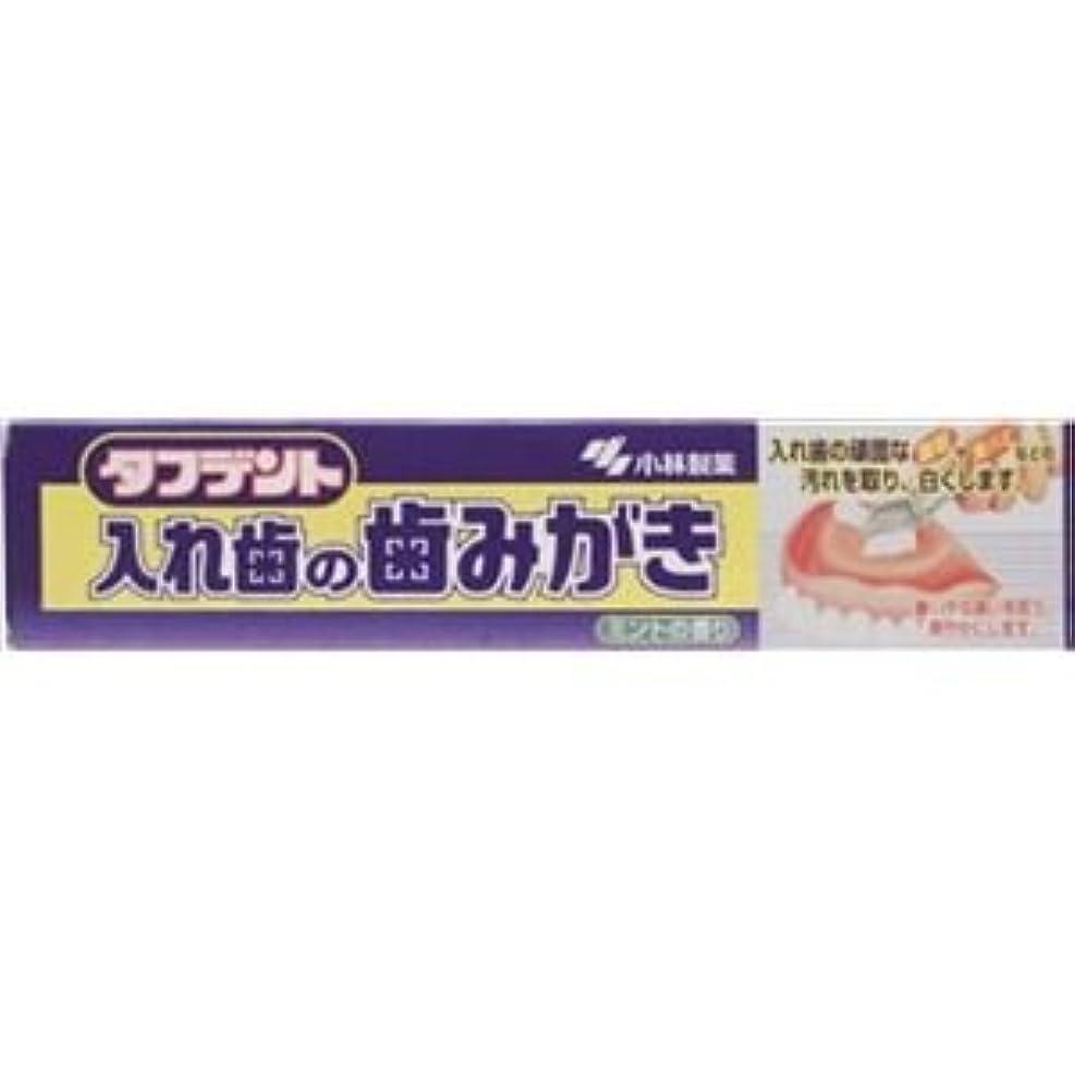 チョーク横に気質(まとめ)小林製薬 タフデント 入れ歯の歯みがき 【×6点セット】