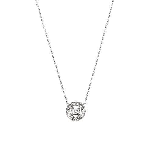 [VAヴァンドーム青山] ダイヤモンド 0.16ct プラチナ Pt900 ネックレス GPAN008343DI