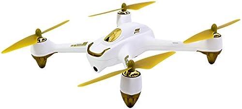 Hubsan 15030050 - X4 FPV Brushless Quadrocopter Weiß- RTfürohne mit HD-Kamera, GPS, Follow-Me, Akku, Ladeger und Fernsteuerung mit integriertem Farbmonitor (H501S)