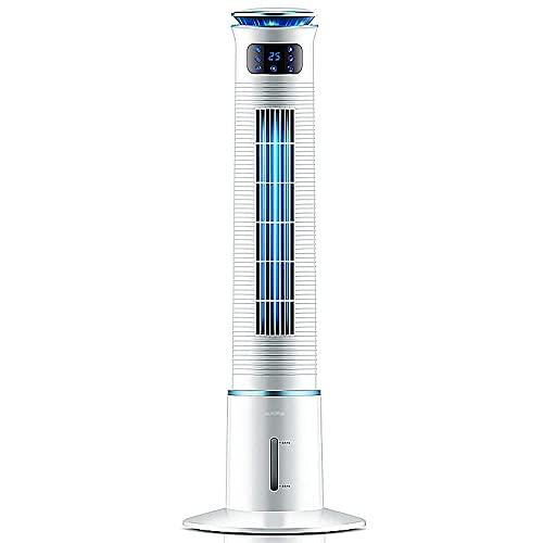 Apartamento de aire acondicionado, sin ventilador de mangueras de escape / aire acondicionado de pie, velocidad de viento de 3 bloques, toque inteligente, refrigeración de humidificación, operación si