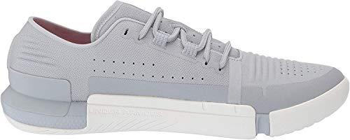 Under Armour Men's Speedform Feel Cross Trainer Sneaker, Mod Gray (102)/White, 12