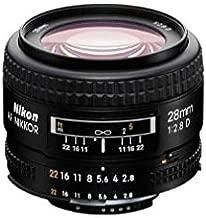 Nikon AF FX NIKKOR 28mm f/2.8D Lens with for Nikon DSLR Cameras