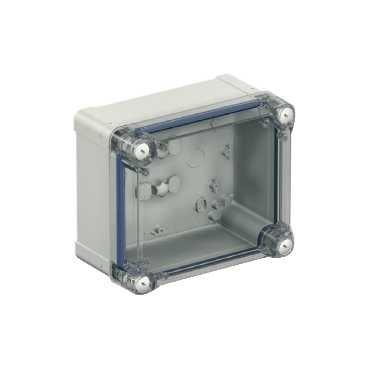 Schneider elec pue - pbo 11 10 - Caja industrial policarbonato 193x164x107 tapa transparente