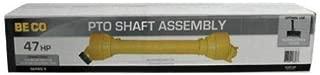 PTO Driveline Shaft, Series 5, 540 Spline Shearbolt Clutch, 540 Spline without Shearbolt