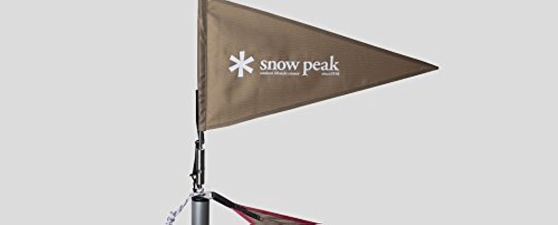 無法者マオリsnow peak(スノーピーク) タープフラッグ カーキ【雪峰祭限定】 UG-445KH