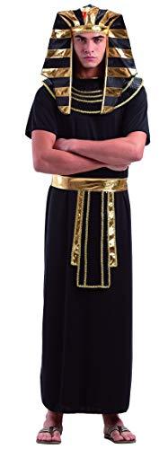 Foxxeo Pharaokostüm Pharaoh Pharao Ägypten Antike Kostüm für Herren Gr. M - XXXXL (XXL)