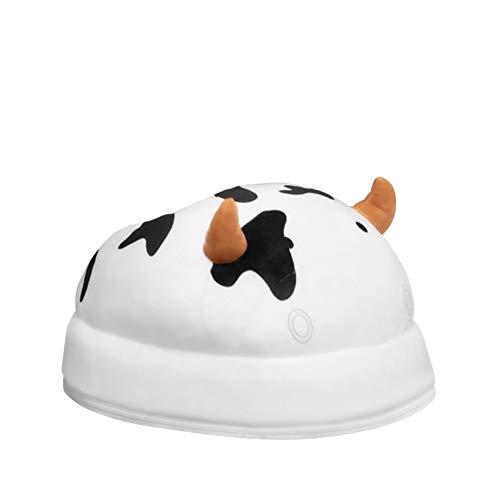 ZHANGXJ Calentadores de pies 2-en-1 masajeador de pies con calefacción Calentamiento ultrarápido Suave Transpirable Interior Lavable a Mano para Casa Oficina Uso Aliviar la Fatiga (Size : Plug-in)