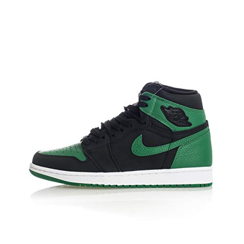Nike Air Jordan Retro 1 High OG Black/Pine Green-White-Gym Red 555088 030 (8)