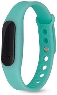 FTEEL Smart Bracelet Delicate Sports Watches Rubber LED Women Mens Date Sports Bracelet Digital Wrist Watch(Black) (Color : Mint Green)