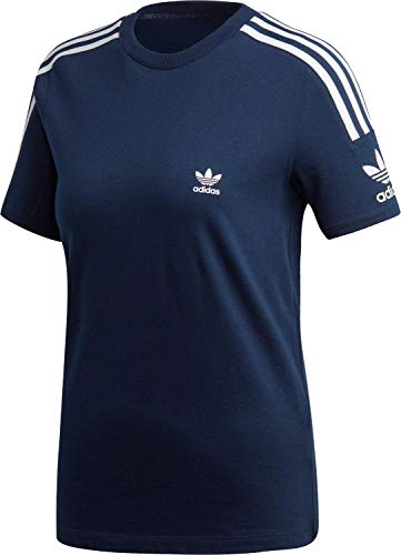 adidas 3 Stripes Tee, T-Shirts Donna, Collegiate Navy, 44