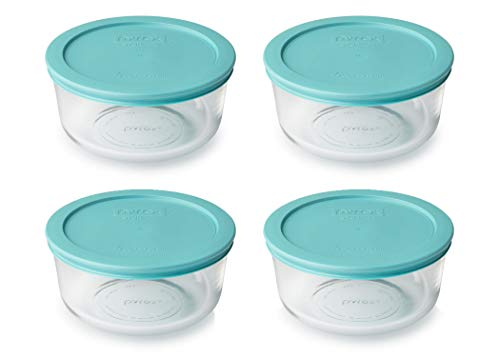 4 Cup Pyrex Containers