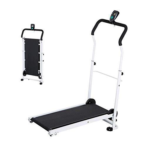 Treadmills Cinta De Correr Plegable Portátil del Hogar Gimnasia Cinta Rodante Pantalla De La Máquina…