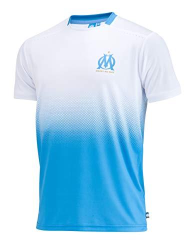 Olympique de Marseille Trikot OM, offizielle Kollektion, Herrengröße S weiß