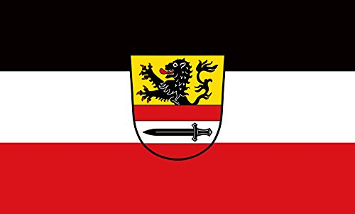 Unbekannt magFlags Tisch-Fahne/Tisch-Flagge: Niedertaufkirchen 15x25cm inkl. Tisch-Ständer