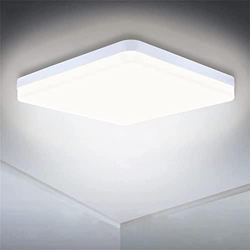 LED Deckenleuchte 36W, SUNZOS 4000K 3240LM Deckenlampe Led für Lampe Wohnzimmer, Schlafzimmer, Küchenlampen, Flur, Balkon, Esszimmer, Neutralweiß Deckenleuchte Led