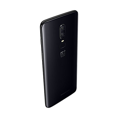 OnePlus 6 Smartphone (15,95 cm (6,28 Zoll) 19:9 Touch-Display, 128 GB interner Speicher, Android 8.1 Oreo / Oxygen OS 5.1), Mirror Black