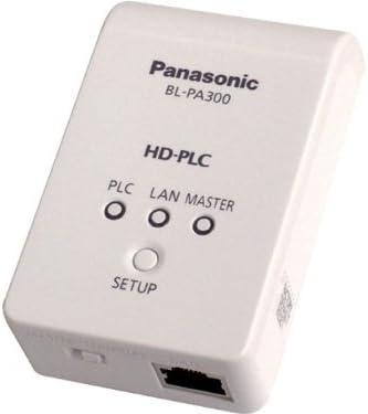 Panasonic High Definition Power Line Communication Ethernet Adaptor- Twin Pack