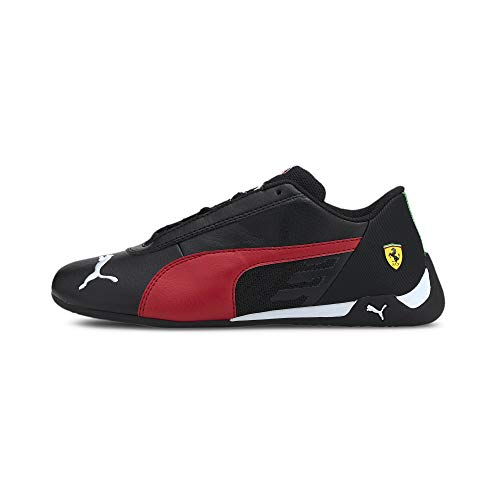 Puma Ferrari Race R-Cat JR, Zapatillas Deportivas, Black, 39 EU