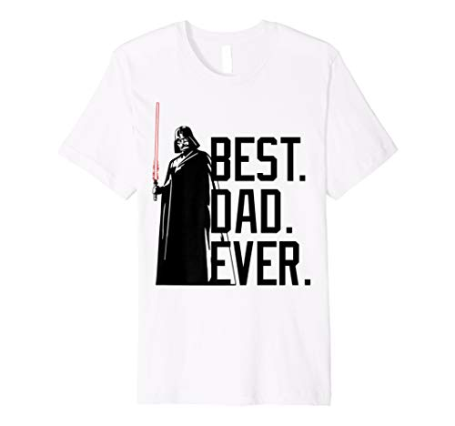 Star Wars Darth Vader Best Dad Ever Tonal Graphic T-Shirt