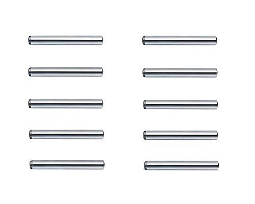 Modellbau-Werkstatt Zylinderstifte 2x10mm gehärtet DIN 6325 m6 (10 Stück)