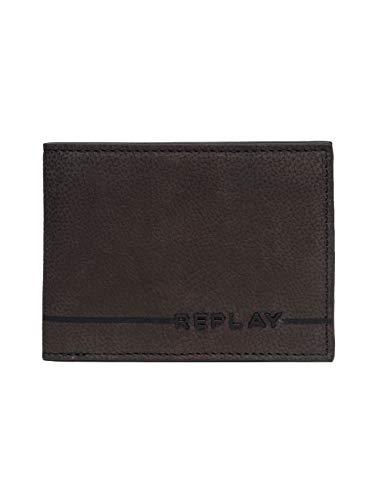 REPLAY - Fm5164.000.a3052c, Carteras Hombre, Marrón (Brown Cocoa), 1x8,5x11 cm (W x H L)