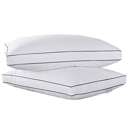Puredown® Almohadas de Plumas de Ganso