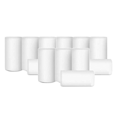 Dailymall 12 Unidades 17.4 x 13.8cm 4 Capas Rollo