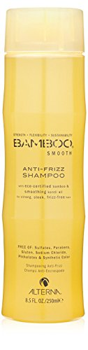 Alterna Bamboo Smooth Anti-Frizz Shampoo for Unisex, 8.5 Ounce