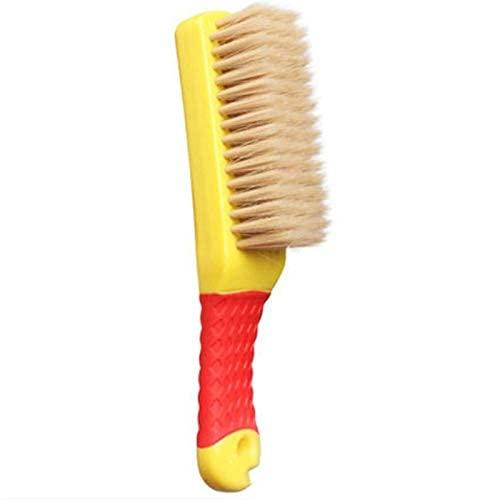Productos de Limpieza, Cepillo de Limpieza El Cepillo de cerdas Suaves se Puede Utilizar para Limpiar la Tela de Malla de Zapatos Amarillo + Rojo