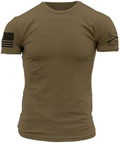 Grunt Style Basic Crew Men s T Shirt Color Military Green Size X Large product image