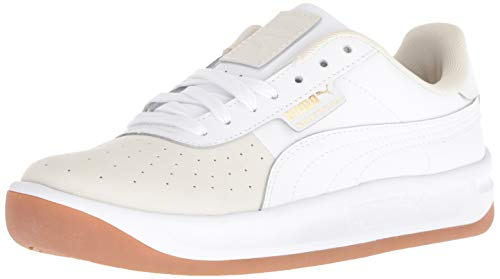 PUMA Women's California Shoe, whisper white-puma w 390, 9 M US