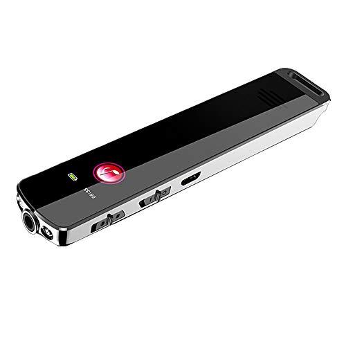 T-XYD Persönliche Diktiergeräte, Profi-HD-Noise Reduction Recorder, MP3-Player-Timing-Aufnahme mit Passwortschutz (4GB-32GB),4GB