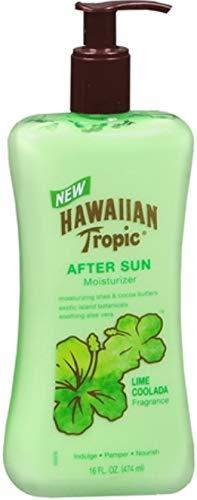 Hawaiian Tropic Lime Coolada After Sun Moisturizer 16 oz (Pack of 10)
