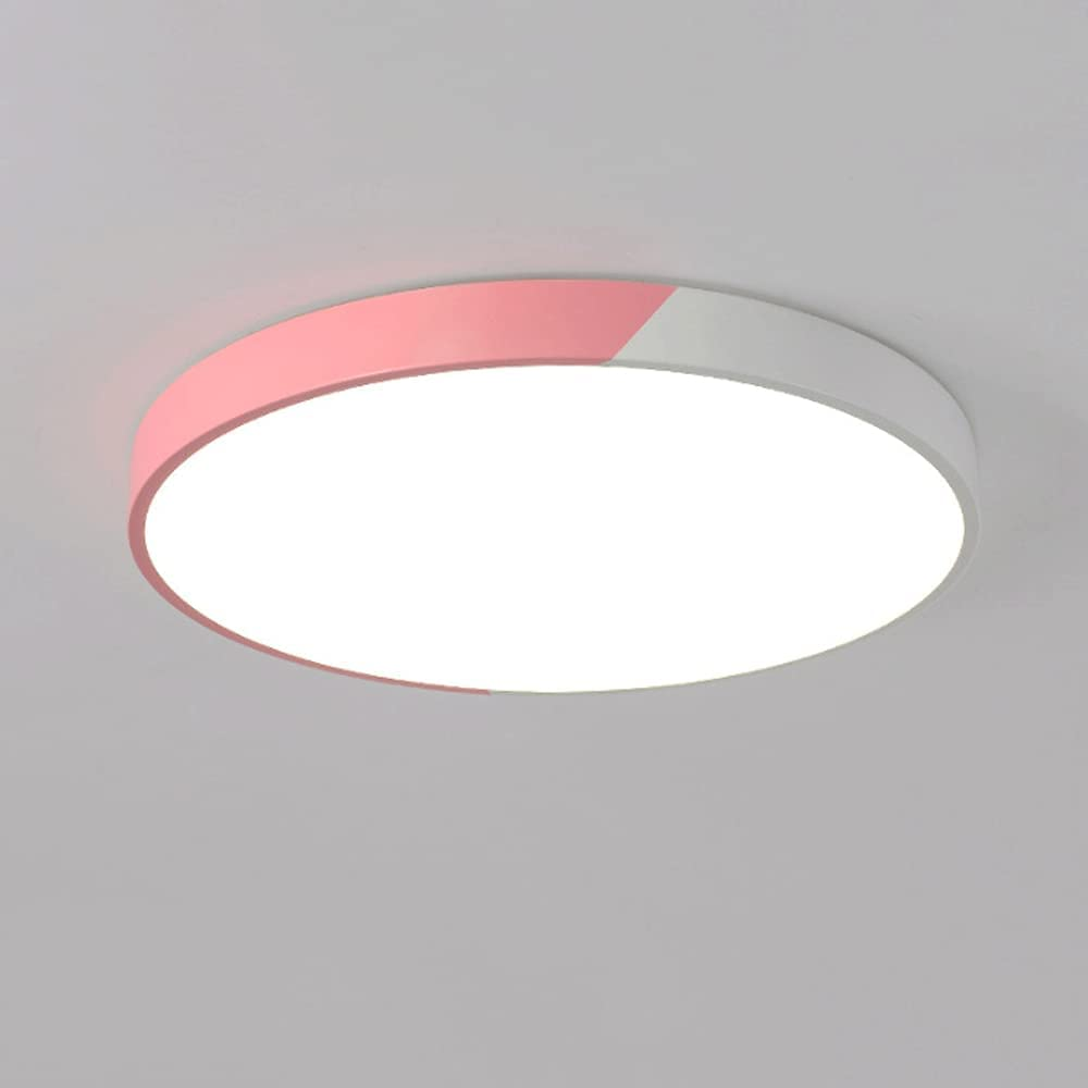 WANGYAN Modern Popularity and Simple LED Flush 30 free Mount Round Light Ceiling