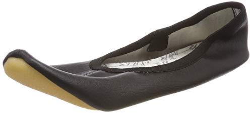 Beck Basic Zapatillas de Gimnasia Unisex adulto, Negro (Schwarz/Weiss), 44 EU