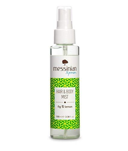 Messinian Spa Hair & Body Mist Fig & Lemon Hydration Formula 100ml