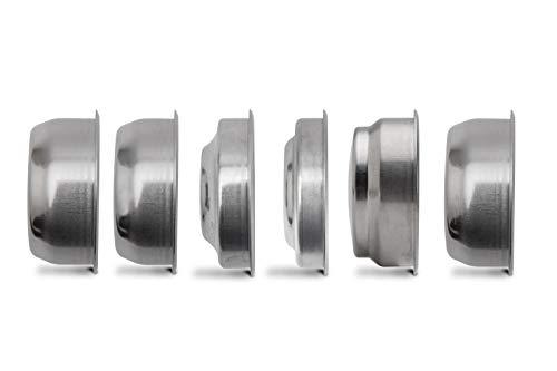 Lelit PLA170S Komplettes Filter Set LELIT57 für Gemahlenen Kaffee und Reinigung, Rostfreier Stahl, Acciaio Inossidabile