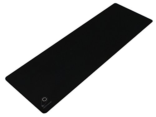Dechanic Extended Control Soft Gaming Mouse Mat - 36'x12', Black