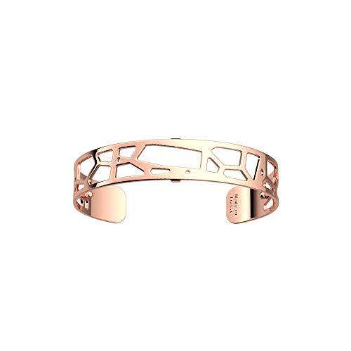 Les Georgettes - Les Essentielles Girafe+ - Bracelet Femme - Large - Couleur : Or Rose - Largeur du bracelet : 14 mm