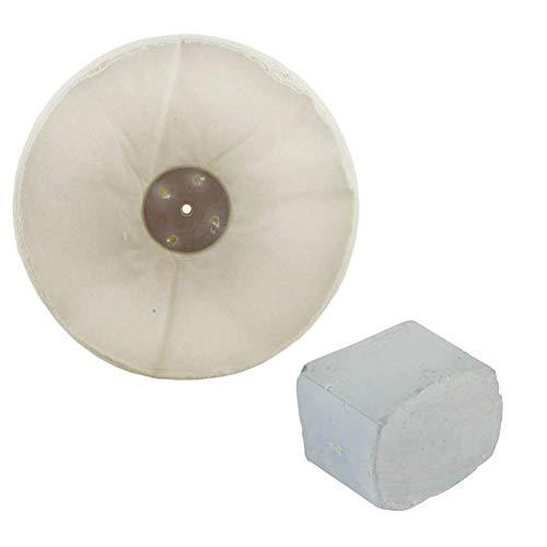 G Poliermopp/Poliermopp/Poliermop/Poliermopp/Poliermasse, ungenäht, 30,5 x 5,1 cm, 4-reihig, mit Verbundstoff 250