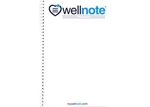 Wellnote Notizbuch für Apotheke, Geschichte und Physikalische H&P und Seife