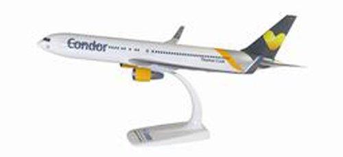 herpa 610865 Condor Flugzeug 610865-Condor Boeing 767-300 zum Sammeln und Basteln und als Geschenk in Miniatur, Mehrfarbig