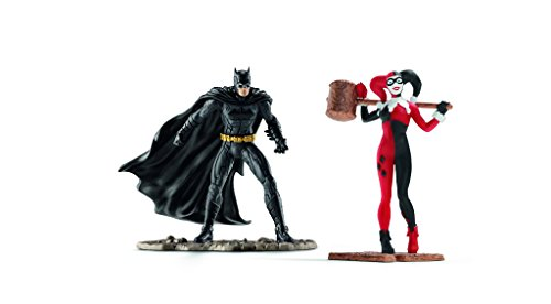 Schleich 22514 - Scenery Pack Batman vs Harley Quinn