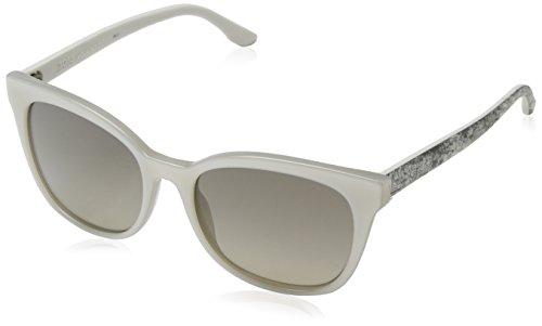 Hugo Boss Boss 0893/S 6P 1GP Gafas de sol, Blanco (White/Brown Fl Gold), 53 Unisex-Adulto
