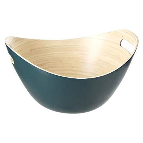Paris Prix Five Simply Smart - Saladier Design en Bambou Covat 30cm Vert