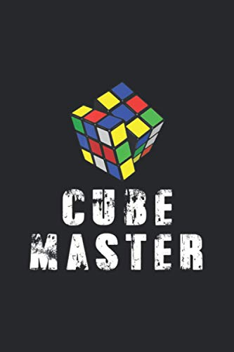 Awesome Graphic Melting Rubik Cube Master: Notebook Journal