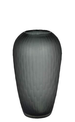 Kaheku Vase Pensa Smoke, Ø 20 cm, Höhe 36 cm